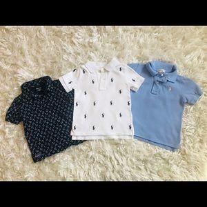 Ralph Lauren Polo Style Shirts 18 & 24 months Boys